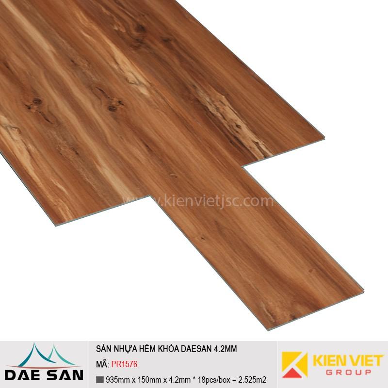 Sàn nhựa hèm khoá Daesan PR1576 | 4.2mm