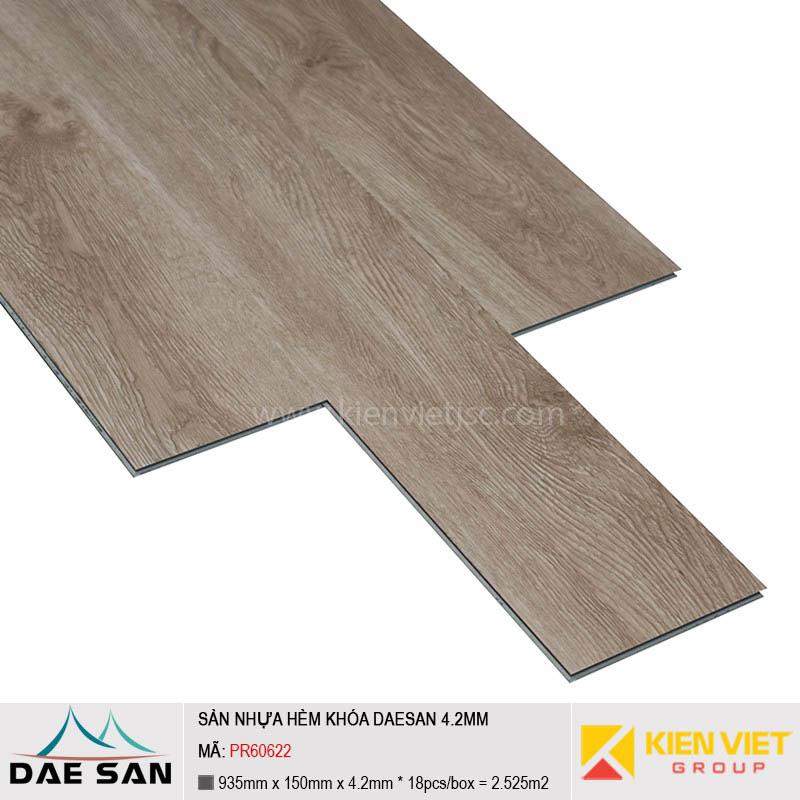 Sàn nhựa hèm khoá Daesan PR60622 | 4.2mm