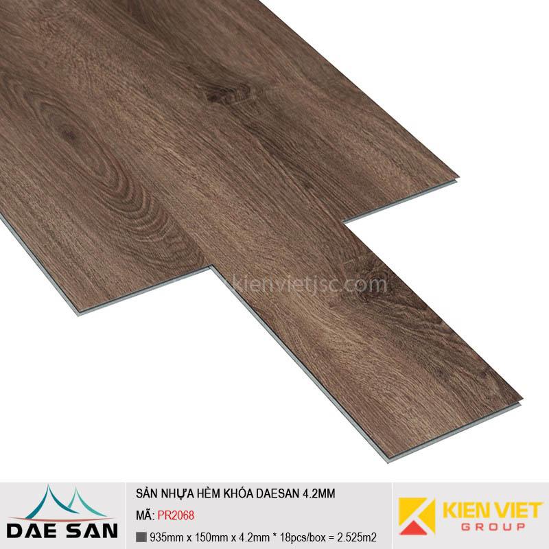 Sàn nhựa hèm khoá Daesan PR2068 | 4.2mm