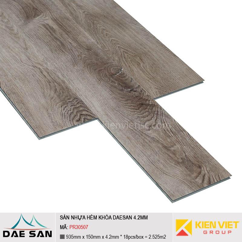 Sàn nhựa hèm khoá Daesan PR30507 | 4.2mm