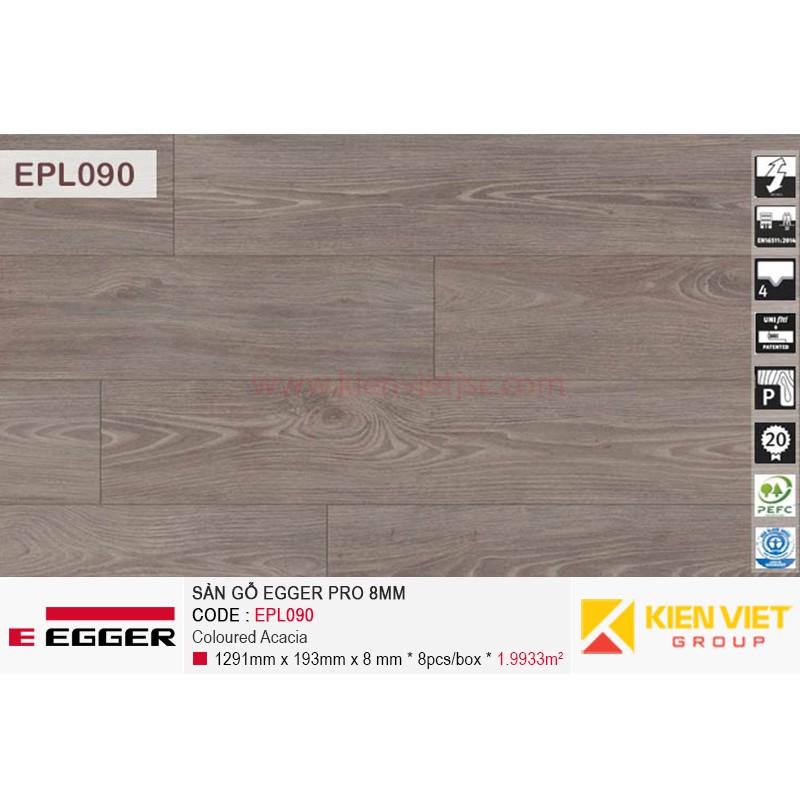 Sàn gỗ Egger Pro EPL090 Coloured Acacia | 8mm