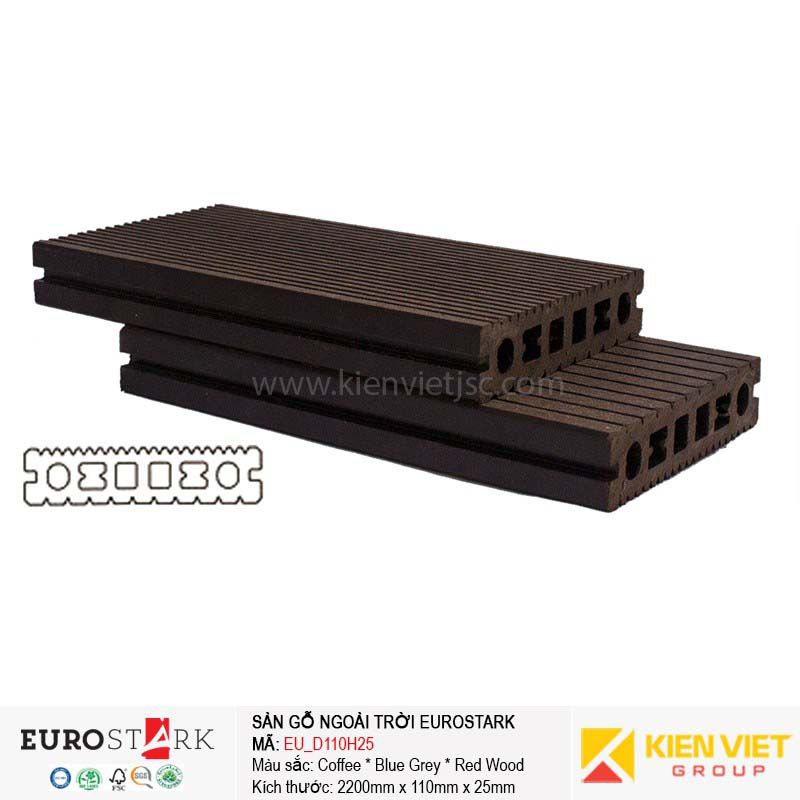 Sàn gỗ ngoài trời EuroStark EU-D110H25