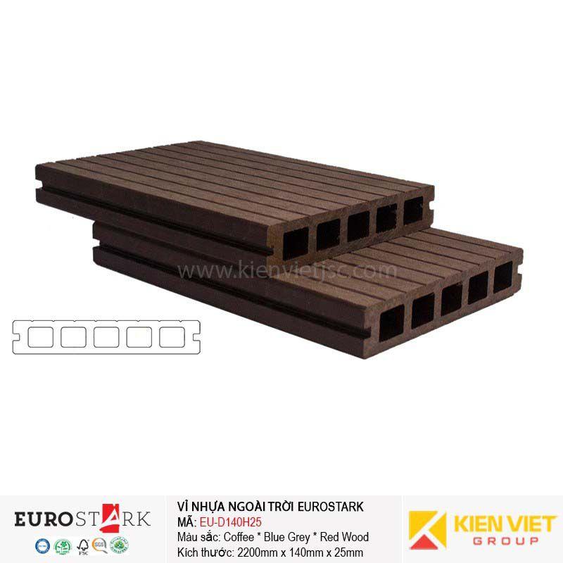 Sàn gỗ ngoài trời EuroStark EU-D140H25