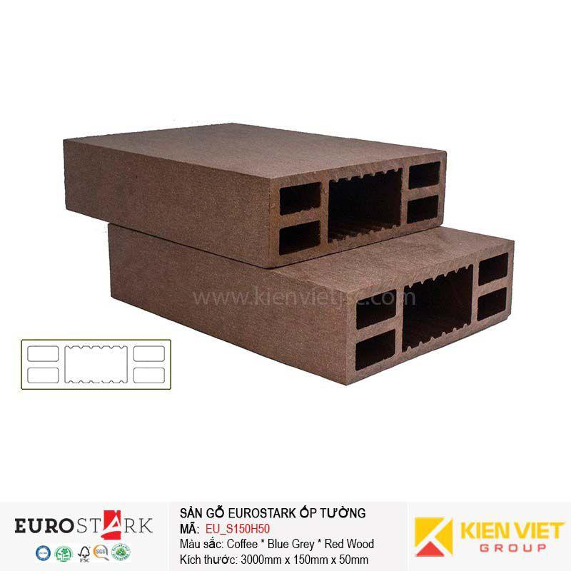 Sàn gỗ ngoài trời hệ lam gỗ nhựa EuroStark EU-S150H50