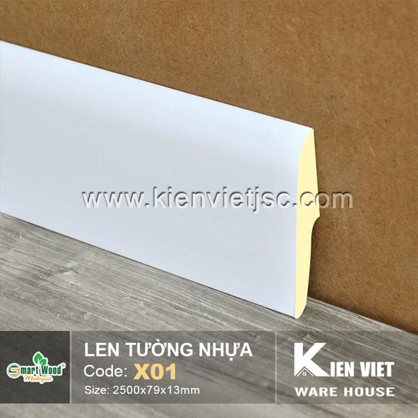 Len tường nhựa X01