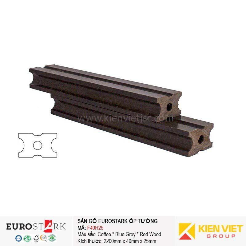 Sàn gỗ ngoài trời thanh xương EuroStark F40H25