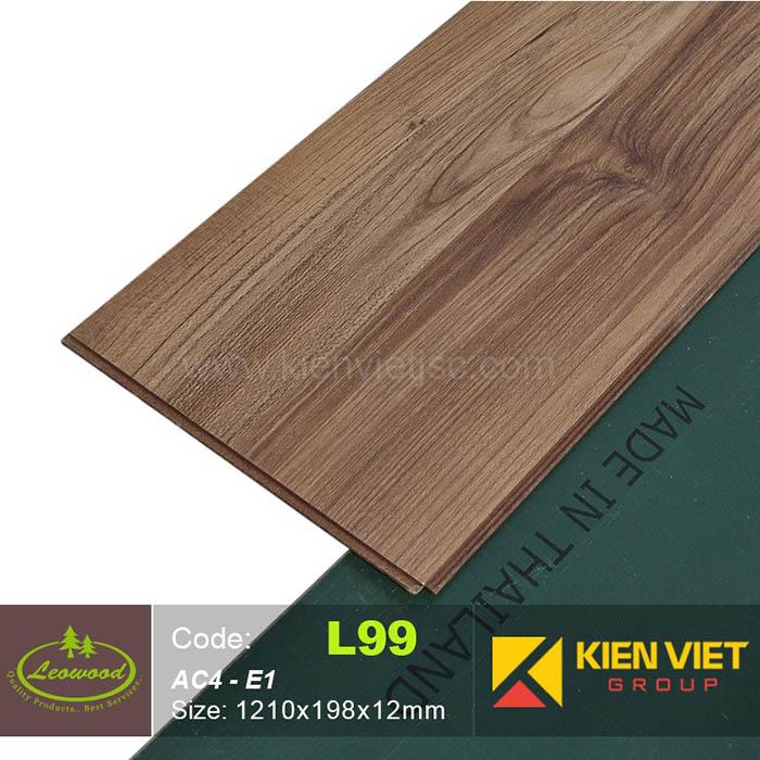 Sàn gỗ công nghiệp Thái lan Leowood L99 | 12mm