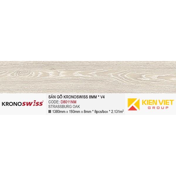 Sàn gỗ Kronoswiss D8011NM Strassburg Oak   8mm