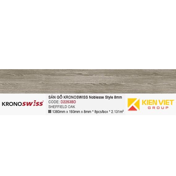 Sàn gỗ Kronoswiss D2253BD Sheffield Oak | 8mm