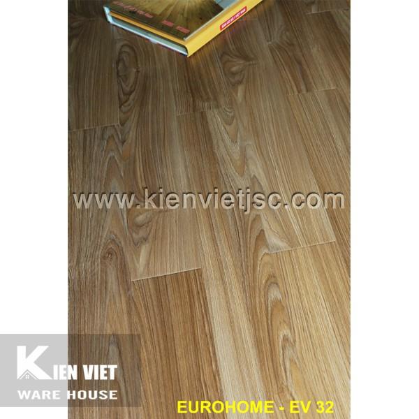 Sàn gỗ Eurohome 12mm EV32