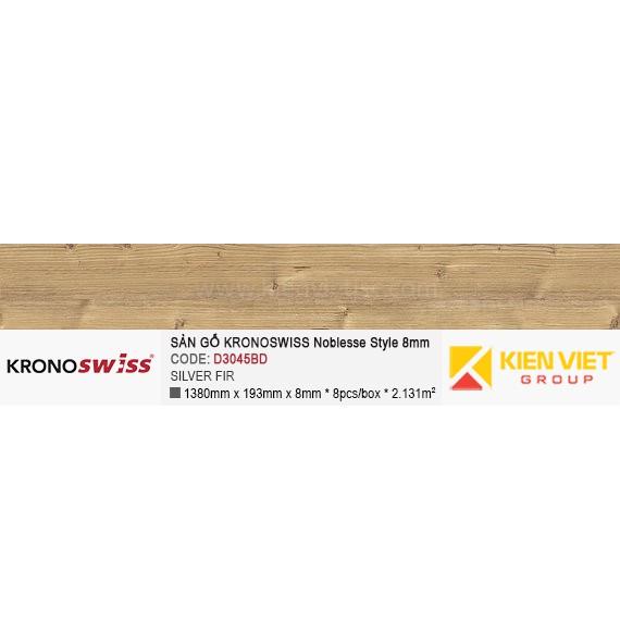 Sàn gỗ Kronoswiss D3045BD Silver fir | 8mm