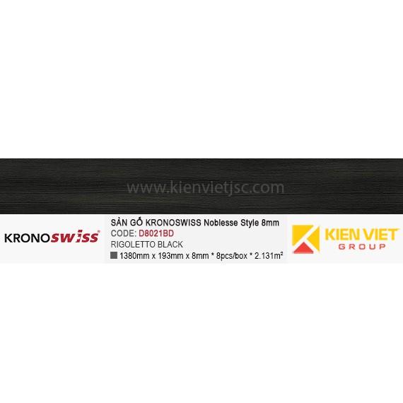 Sàn gỗ Kronoswiss D8021BD Rigoletto Black | 8mm