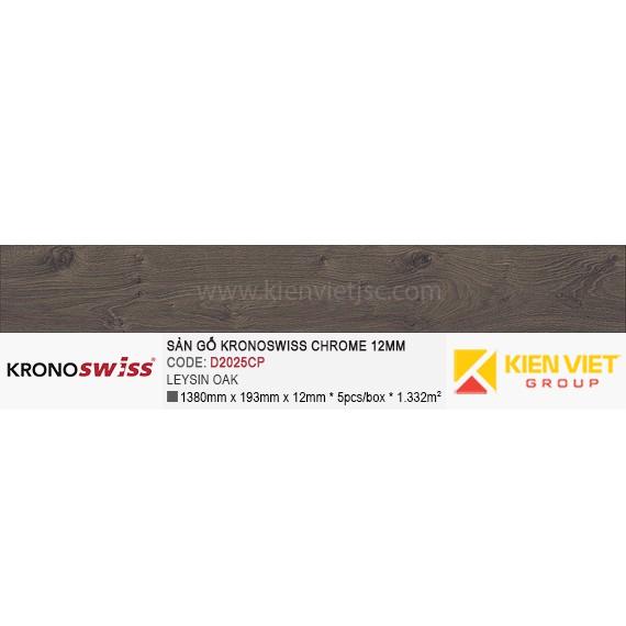 Sàn gỗ Kronoswiss D2025CP Leysin Oak   12mm
