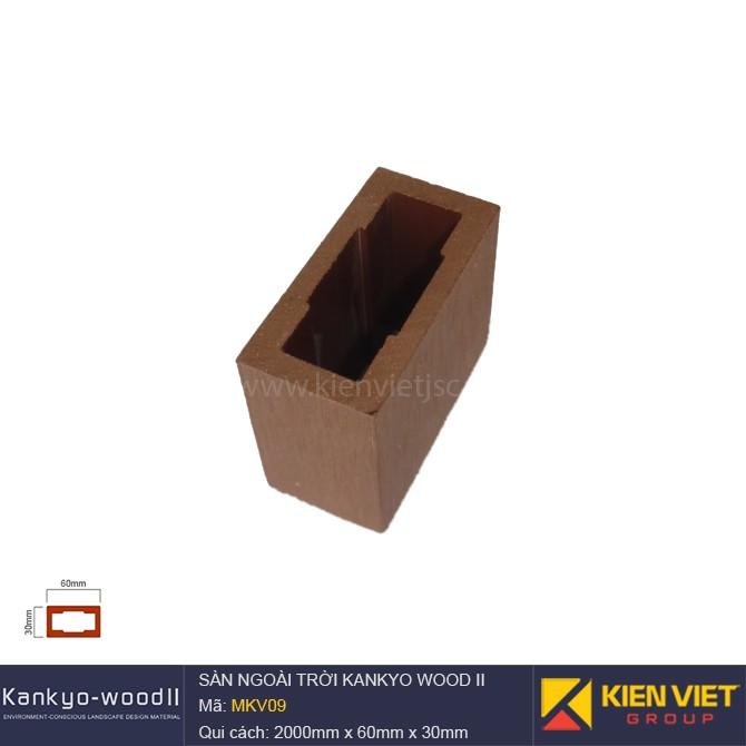 Sàn gỗ ngoài trời Kankyo-wood II | MKV09