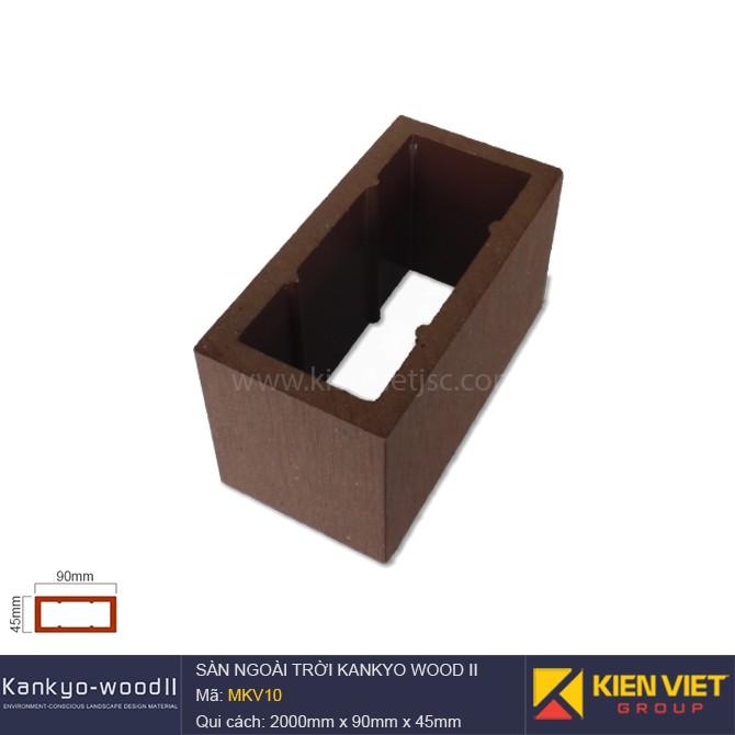 Sàn gỗ ngoài trời Kankyo-wood II | MKV10