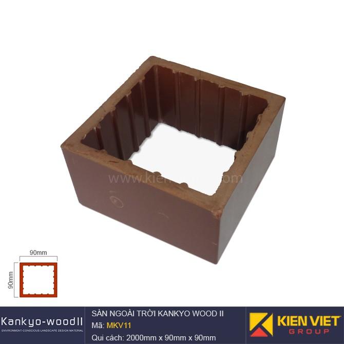 Sàn gỗ ngoài trời Kankyo-wood II | MKV11