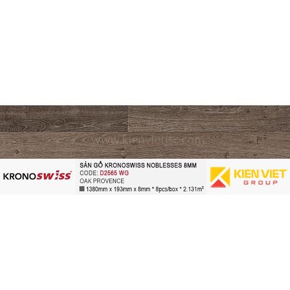 Sàn gỗ Kronoswiss D2565WG OAK PROVENCE | 8mm