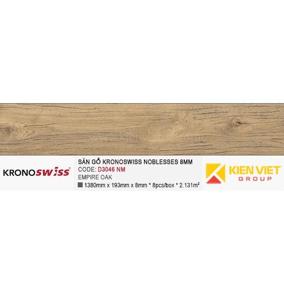 Sàn gỗ Kronoswiss D3046NM EMPIRE OAK | 8mm