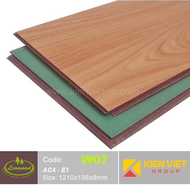 Sàn gỗ công nghiệp Thái lan Leowood  W07 AC4 | 8mm