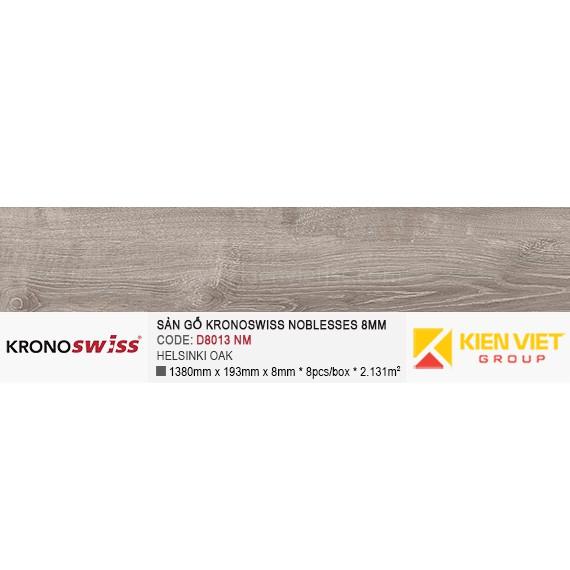 Sàn gỗ Kronoswiss D8013NM HELSINKI OAK | 8mm