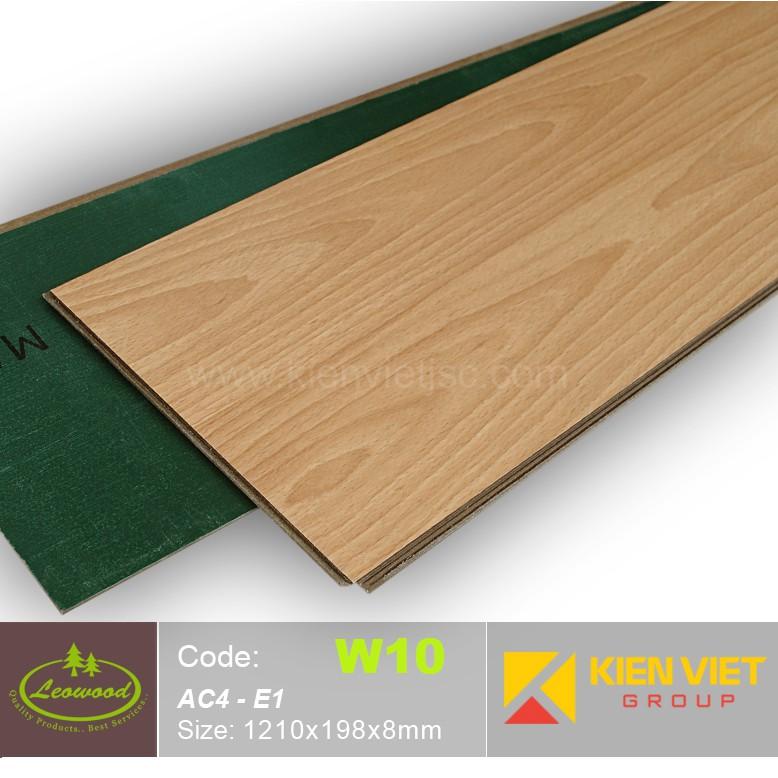 Sàn gỗ công nghiệp Thái lan Leowood W10 AC4 | 8mm