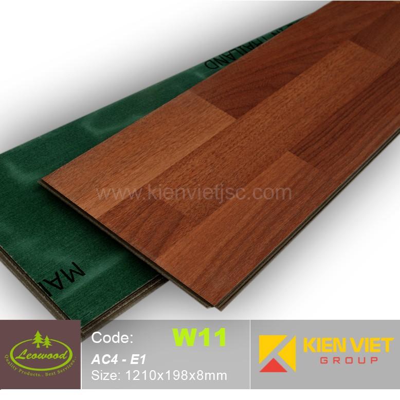 Sàn gỗ công nghiệp Thái lan Leowood W11 AC4 | 8mm