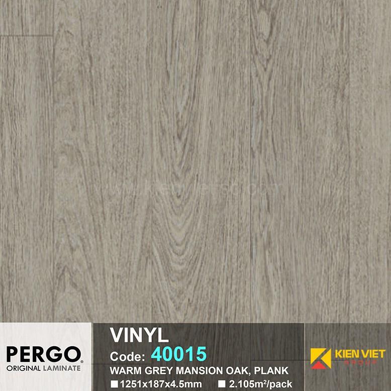 Sàn nhựa hèm khoá Pergo 40015 | 4.5mm