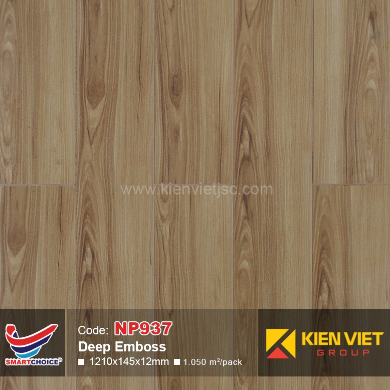 Sàn gỗ Smart Choice NP937   12mm