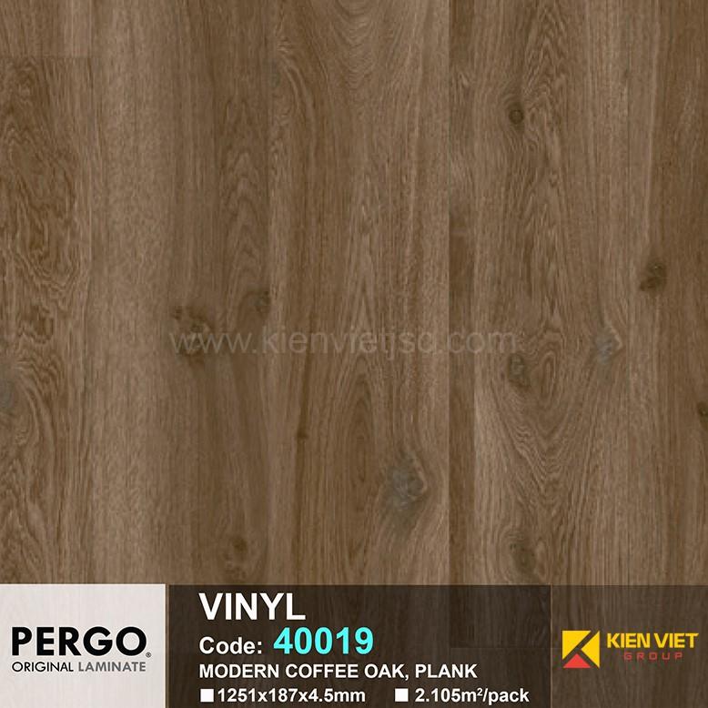 Sàn nhựa hèm khoá Pergo 40019 | 4.5mm