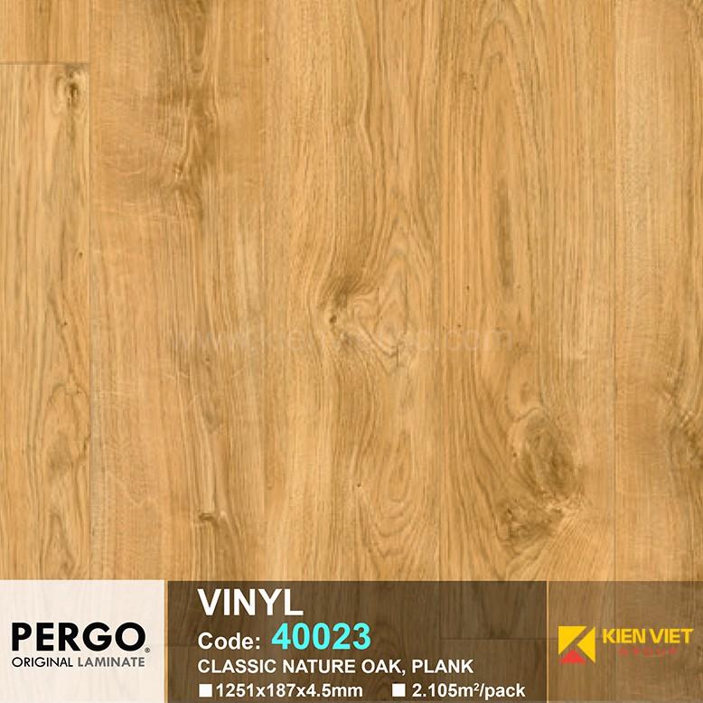 Sàn nhựa hèm khoá Pergo 40023 | 4.5mm