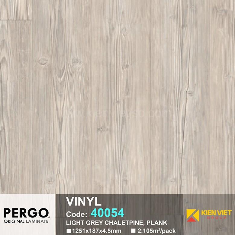Sàn nhựa hèm khoá Pergo 40054 | 4.5mm