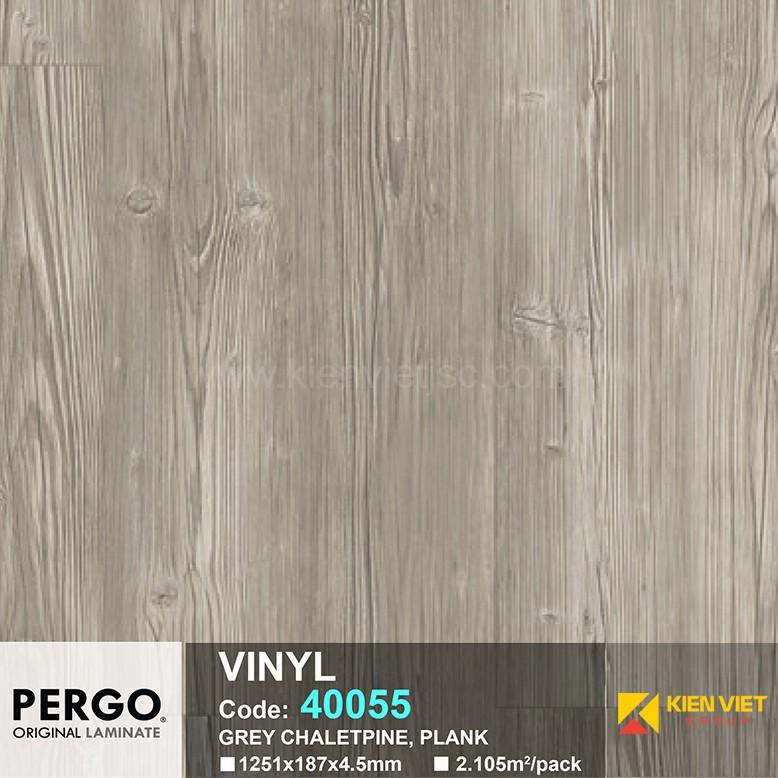 Sàn nhựa hèm khoá Pergo 40055 | 4.5mm