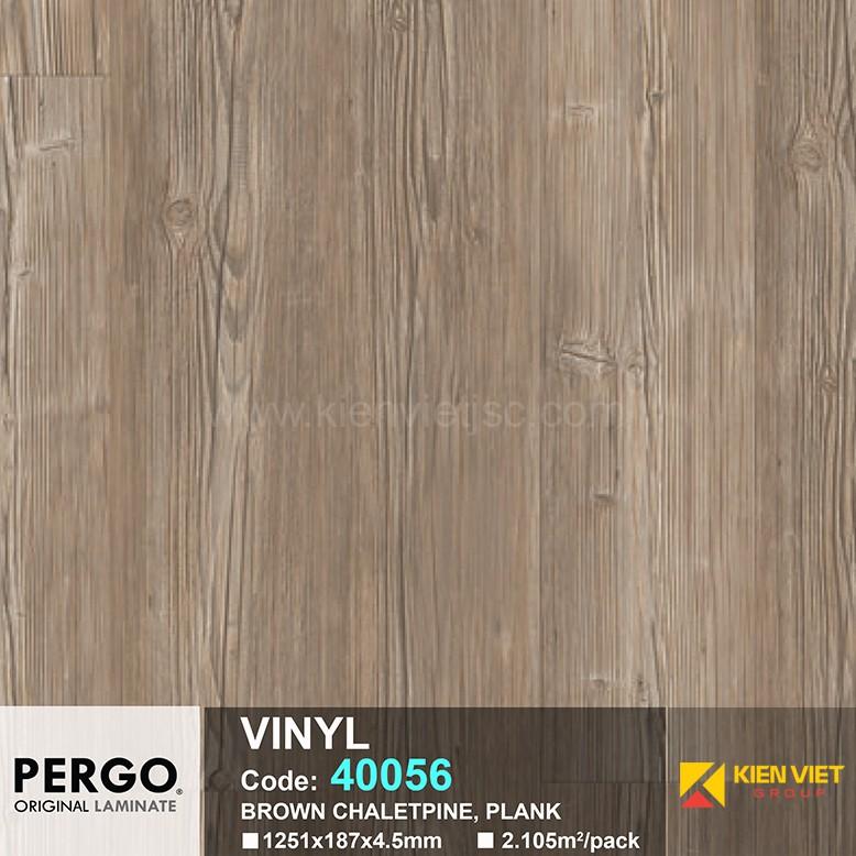 Sàn nhựa hèm khoá Pergo 40056 | 4.5mm