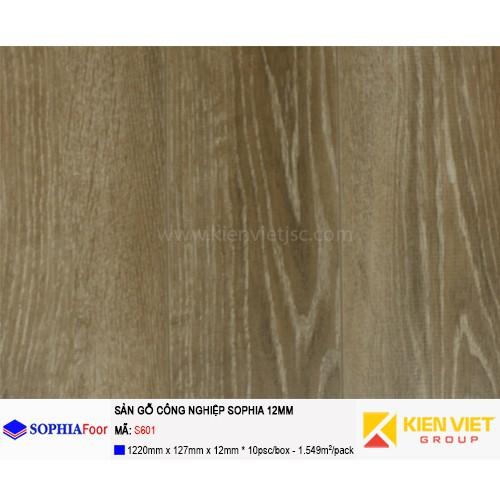 Sàn gỗ công nghiệp Sophia S601 | 12mm