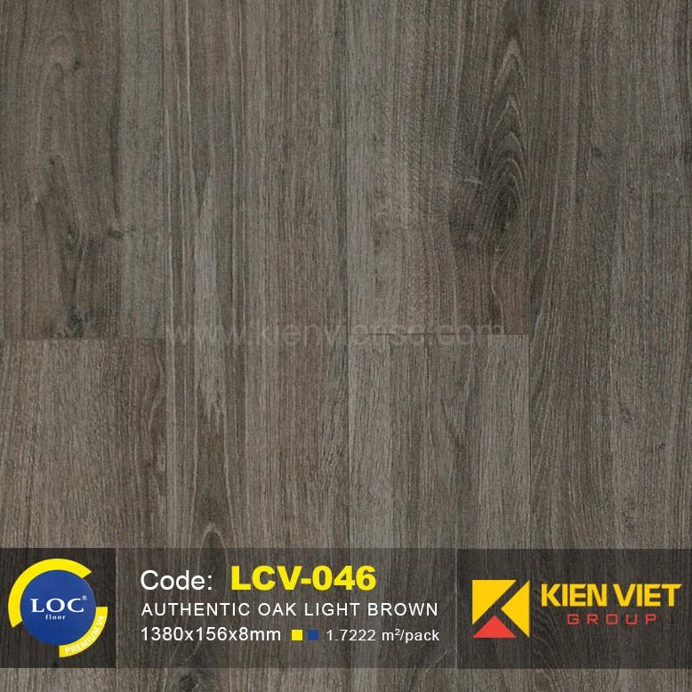 Sàn gỗ Bỉ Loc LCV046 | 8mm