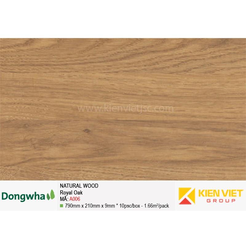 Tấm ốp tường HDF DONGWHA Natural Wood A006