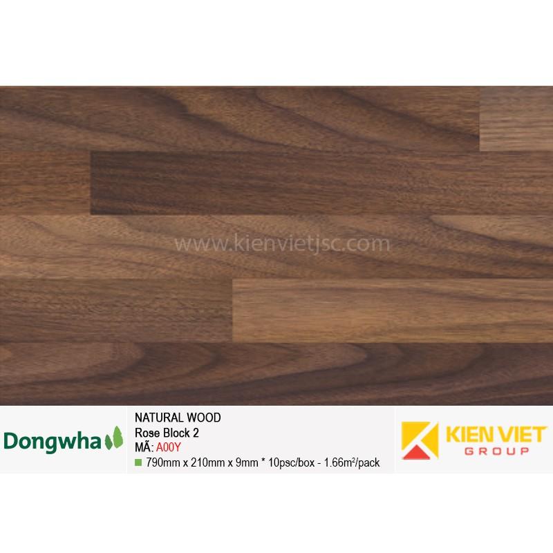 Tấm ốp tường HDF DONGWHA Natural Wood A00Y
