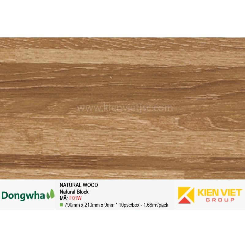 Tấm ốp tường HDF DONGWHA Natural Wood F01W