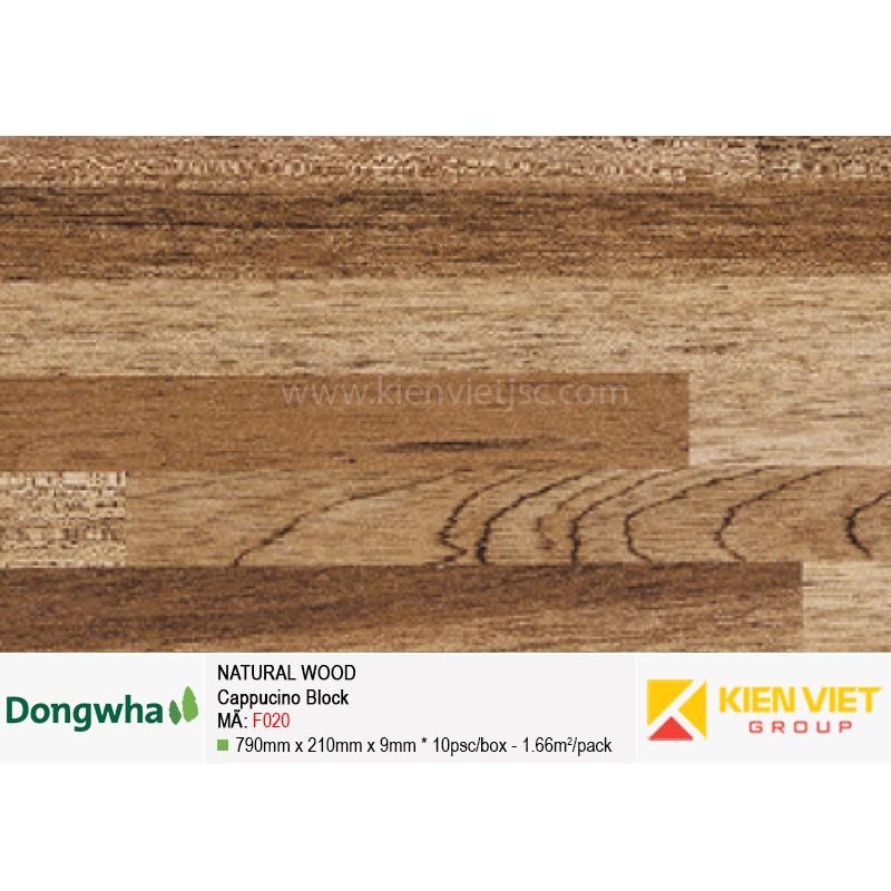 Tấm ốp tường HDF DONGWHA Natural Wood F020