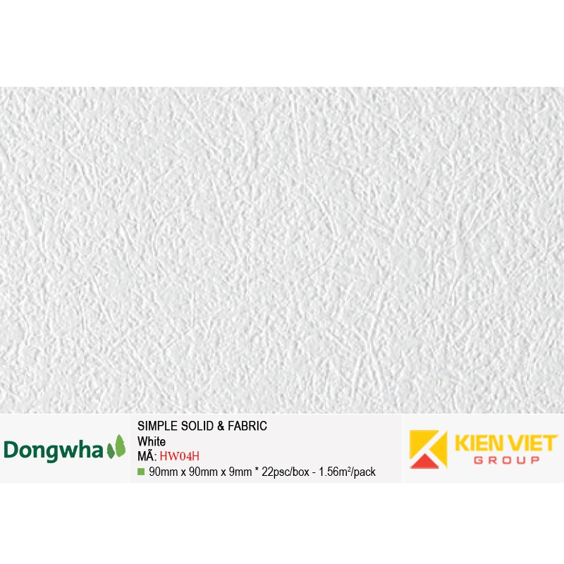 Tấm ốp tường HDF DONGWHA Simple Solid & Fabric HW04H