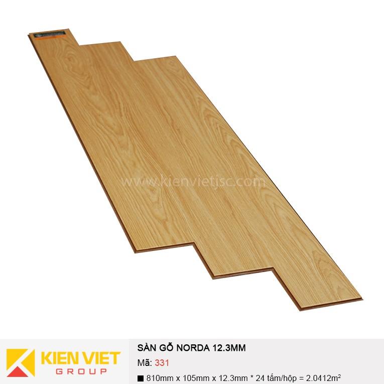 Sàn gỗ công nghiệp NORDA 331 | 12.3mm