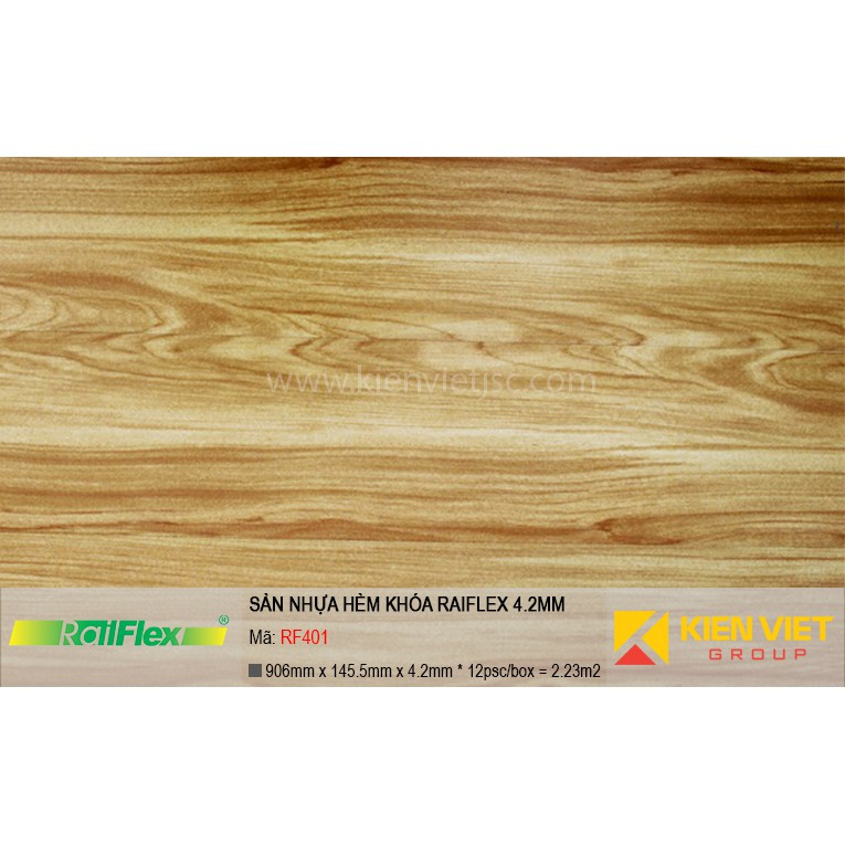 Sàn nhựa hèm khóa Raiflex RF401 | 4.2mm