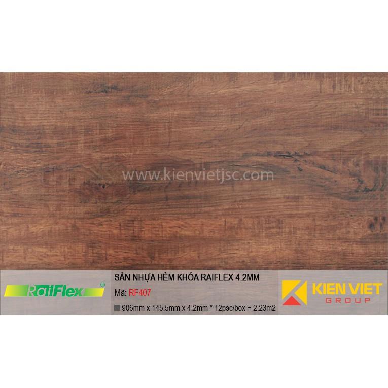 Sàn nhựa hèm khóa Raiflex RF407 | 4.2mm