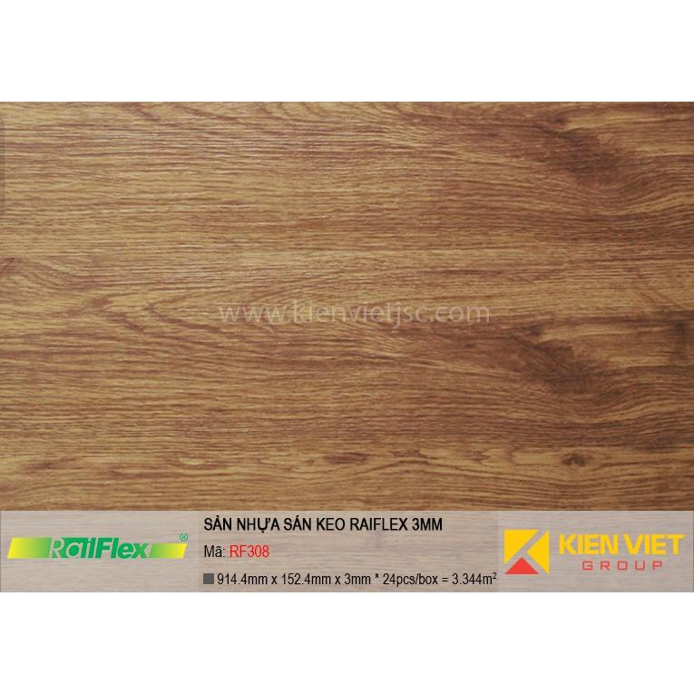Sàn nhựa dán keo Raiflex RF308 | 3mm