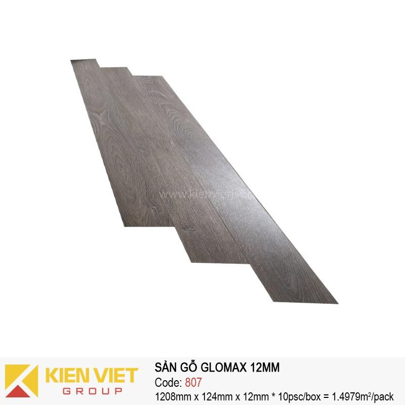 Sàn gỗ công nghiệp thanh lý Glomax 807 | 12mm