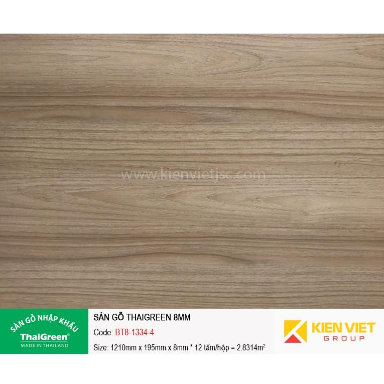 Sàn gỗ công nghiệp Thaigreen BT8-1334-4 | 8mm