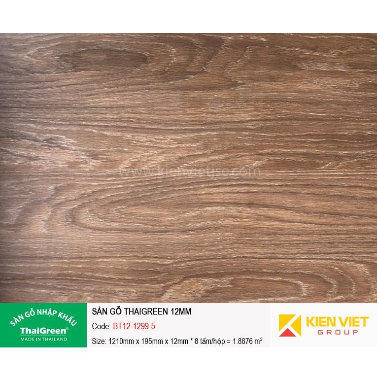 Sàn gỗ công nghiệp Thaigreen BT12-1299-5 | 12mm