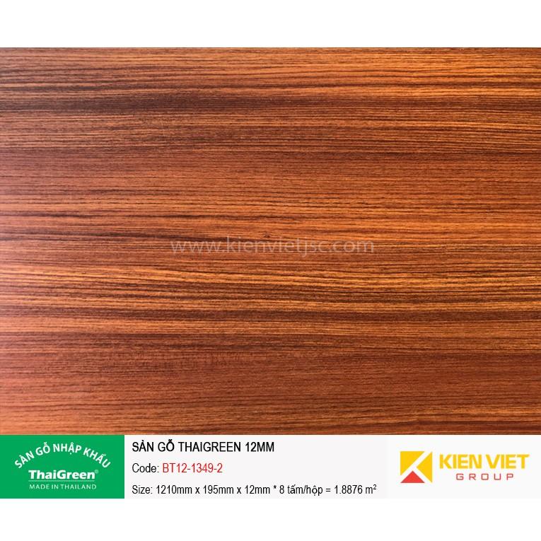 Sàn gỗ công nghiệp Thaigreen BT12-1349-2 | 12mm