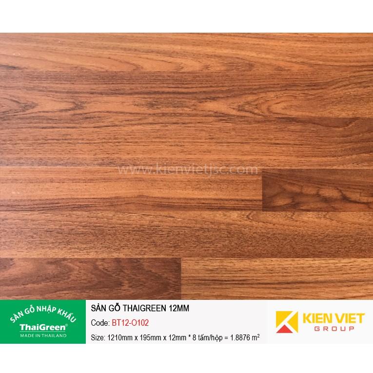 Sàn gỗ công nghiệp Thaigreen BT12-O102 | 12mm