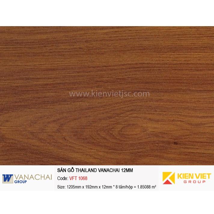 Sàn gỗ công nghiệp Vanachai VFT 1068   12mm